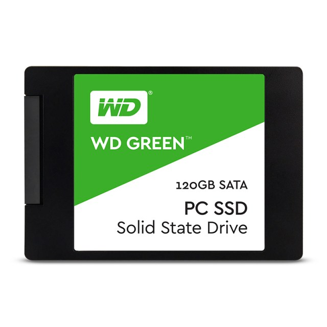 Ổ cứng SSD 120GB WESTERN WDS120G2G0A Green