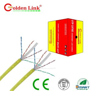 Cable Mạng Golden Link Plus Cat 6 FTP 100% Bare Copper - Chính Hãng