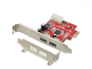 Card PCI EX1 USB 3.0 Unitek