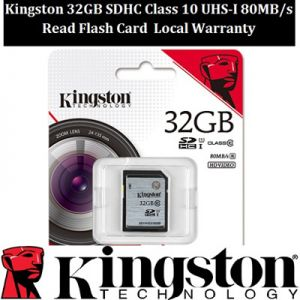 Thẻ nhớ SDHC Kingston 32GB (class 10) Ultra