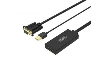 Cable VGA+USB To HDMI Unitek Y-8711