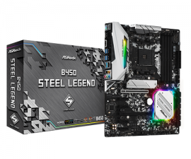 Mainboard Asrock B450 Steel Legend
