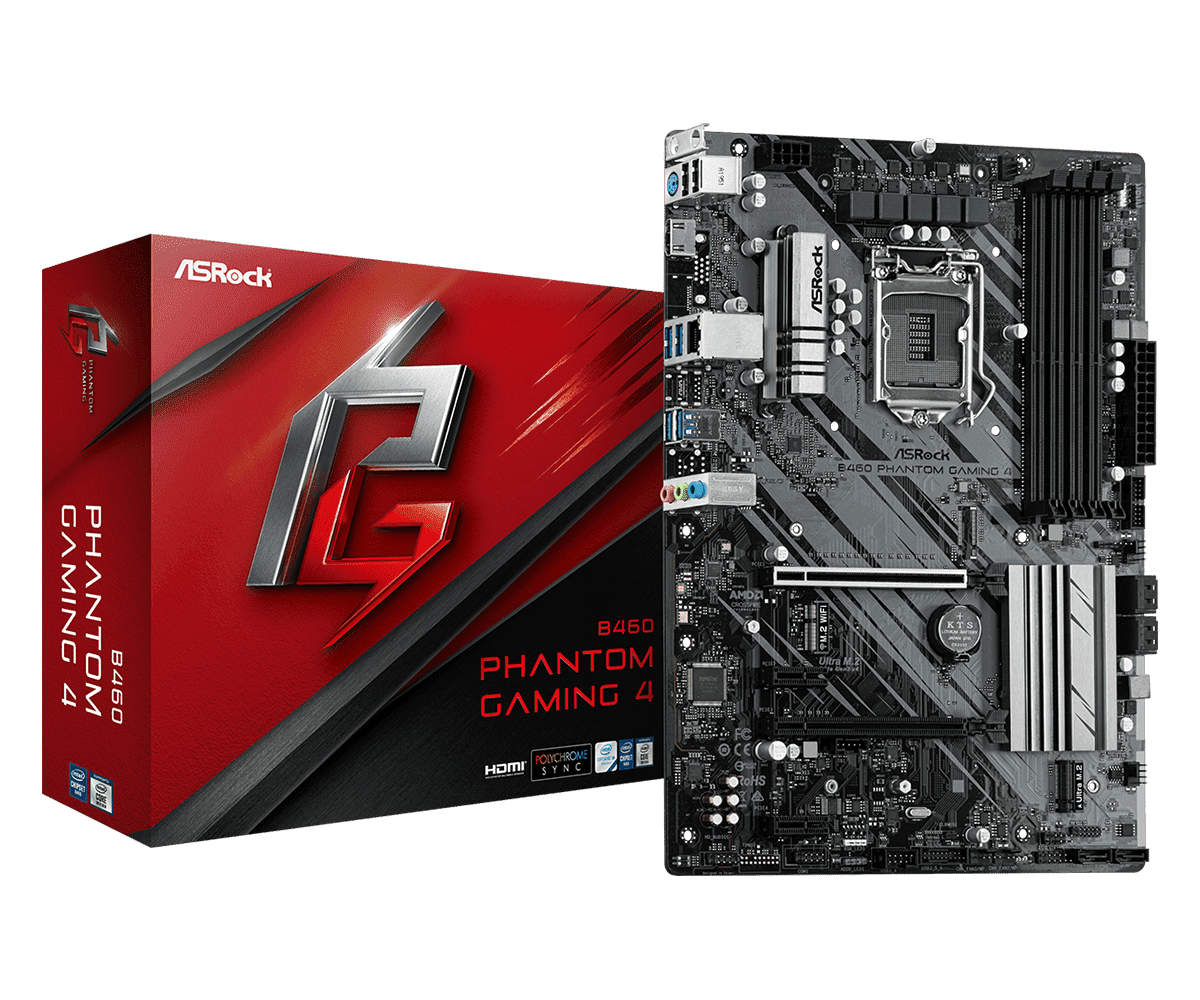 Mainboard ASROCK B460 Phantom Gaming 4