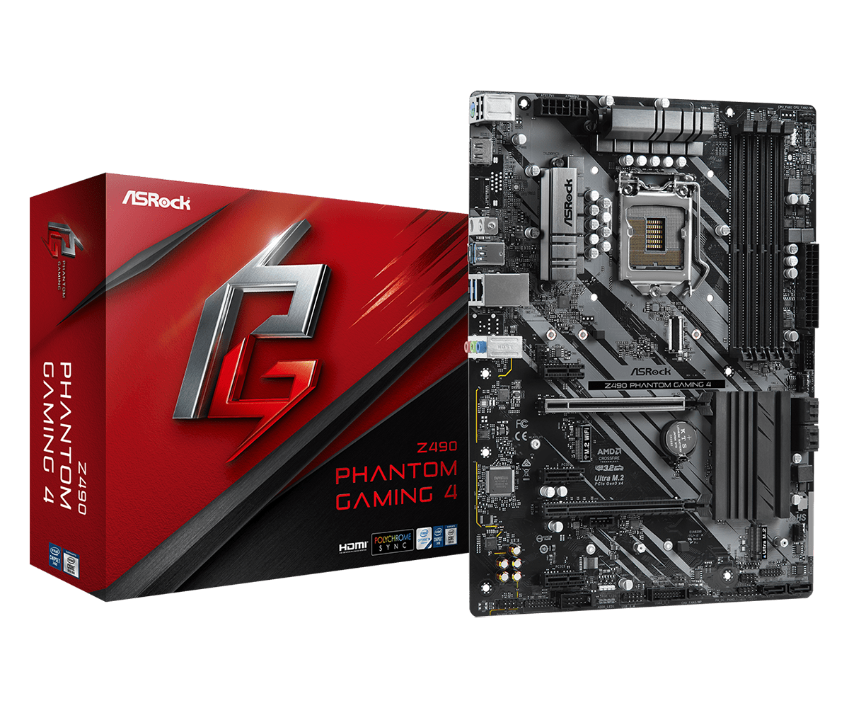 Mainboard ASROCK Z490 Phantom Gaming4