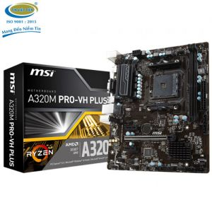Mainboard MSI A320M Pro VH Plus for AMD SK AM4 - Chính Hãng
