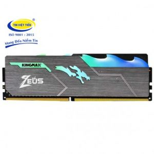 RAM 8GB KINGMAX Bus 3000Mhz Heatsink Zeus RGB