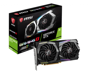 VGA MSI GeForce GTX 1660 Gaming X 6GB DDR5